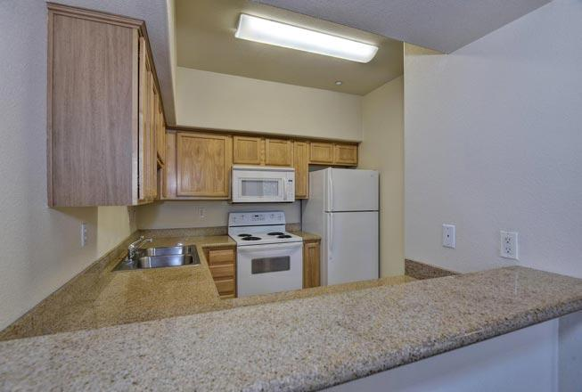 Bay Tree Apartments - Kitchen